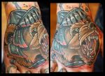 Armored Bear by Sean Ambrose @ Arrows and Embers by seanspoison