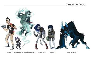 Crew of You by DIN0LICH