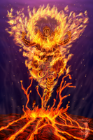 Flame of vengeance by SpectralKnight