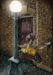Wall E Sing'in in the Rain by peteropanda