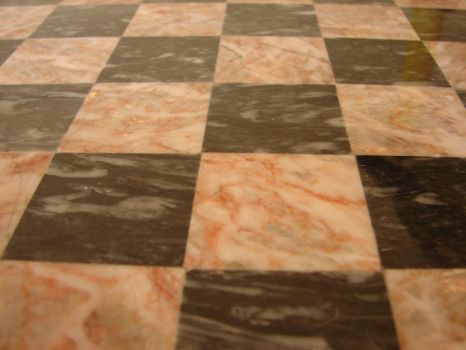 Marble Chess Board Texture 2 by FantasyStock