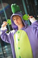 FOR SALE:  Spike kigurumi by HereticalSun