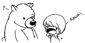confused bear- by Takeshi-Anthem