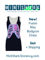 Fusion Ribs Dress by Little-Miss-Boxie