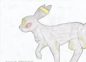 Only an Umbreon by RIOPerla