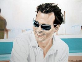 Johnny Depp - Paul Kemp 5 by shaman-art