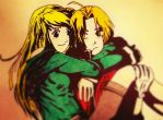edward elric and winry rockbell edited by edvardstas