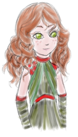 Red and Green by Elistanel
