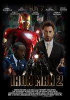 Another Iron Man 2 Film Poster by Marvel-Freshman