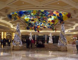 Glass Flowers at the Bellagio by slamduncan2115