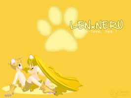 LenxNeru - dedicated to Yukii by Ruuneka