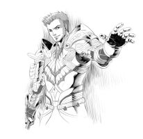 Dragon Age Alistair by virak
