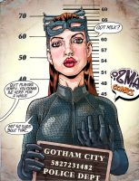 Got milk? (Selina Kyle was caught) by ismaComics