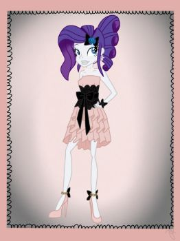 Rarity in pink dress by ilaria122
