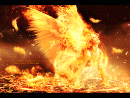 The ecstasy of Phoenix by RazielMB