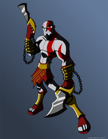 Kratos by KrisSmithDW