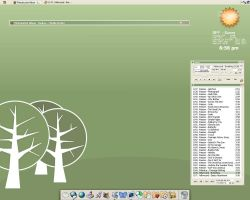 april desktop by thelime