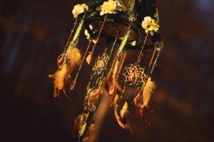dreamcatcher lamp, forest seed by Vision4LifeCro