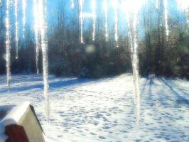 Icicles by Nomalimae