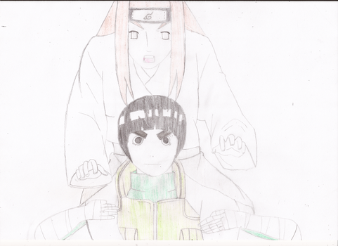 AT: Lee and Neji by Datheetjoella