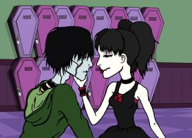 Sam x Yume: the beggining by ThestralWizard