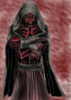 Darth Maul Standing GIMP by CJRogue
