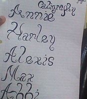 Calligraphy Practice #1 by DJtheMaster