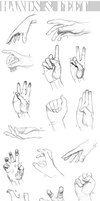 Sketch Select - Hands and Feet by Maivry