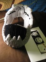 Pipecleaner Mask Flipped Up by DarkSaberCat