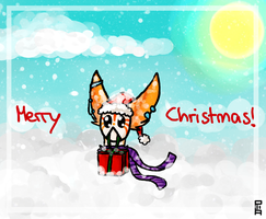 Merry Christmas from Nox by oOSchokoOo