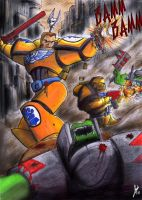 Furious Imperial Fists by Thurosis