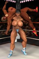 Topless Amazons: the backbreaker by Innokentius