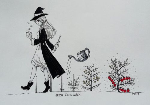 .day26: farm witch by mimiclothing