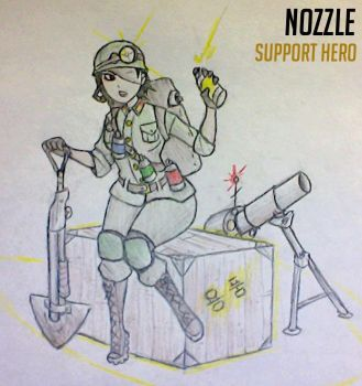 F**k it, another Overwatch OC by Drawbba-The-Hutt