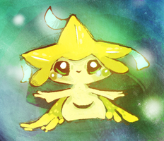Jirachi by Teatime-Rabbit