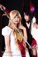 Emeraude Hime and Alcyone 2 by SusanEscalante