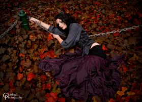In Autumn's Embrace by charligalphotography