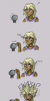 Marik Discovers Static Electricity by Humming-Fly
