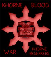 Mark of Chaos 1 - Khorne by Warhammer-Fanatic