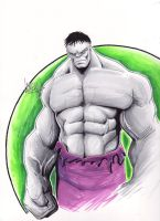 Gray Hulk by LangleyEffect