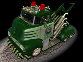 1956 Ford F500 Tow Truck 4 by CWRudy