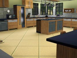 Sim house 19 Interior Kitchen by A-han-343