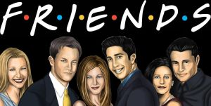 We love F.R.I.E.N.D.S by Junior-Rodrigues