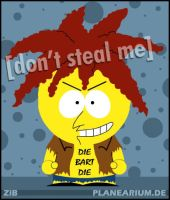The Simpsons: Sideshow Bob by planearium