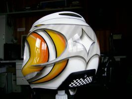 Custom Painted Motorcycle Helmet by Tonys-Airbrushing