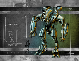 Mech Ares by ET by stealthcache