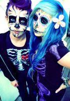 Day Of The Dead by VerenaSchizophrenia