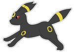 Eeveelution: Umbreon by izka-197