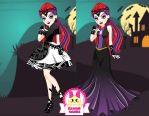 Ever After High Mira Shards Dress Up by heglys