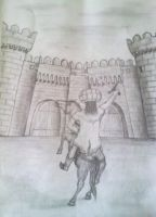 Shah Ismail drawing by rasulh